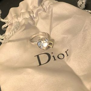 Vintage Dior costume ring size 5